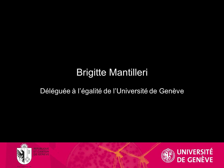Margareta Baddeley Vice-rectrice UNIGE, professeure de droit civil
