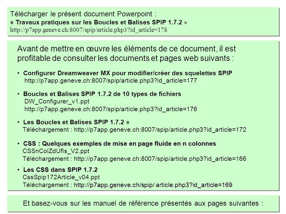 CSS : Quelques exemples de mise en page fluide en n colonnes CSS : Quelques exemples de mise en page fluide en n colonnes CSSnColZdUfIs_V2.ppt Télécha