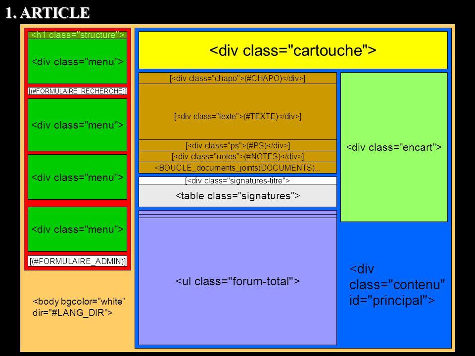 [(#FORMULAIRE_RECHERCHE)] [(#FORMULAIRE_ADMIN)] [ [ (#CHAPO) ] [ (#TEXTE) ] [ (#PS) ] [ (#NOTES) ] <BOUCLE_documents_joints(DOCUMENTS)... 1. ARTICLE