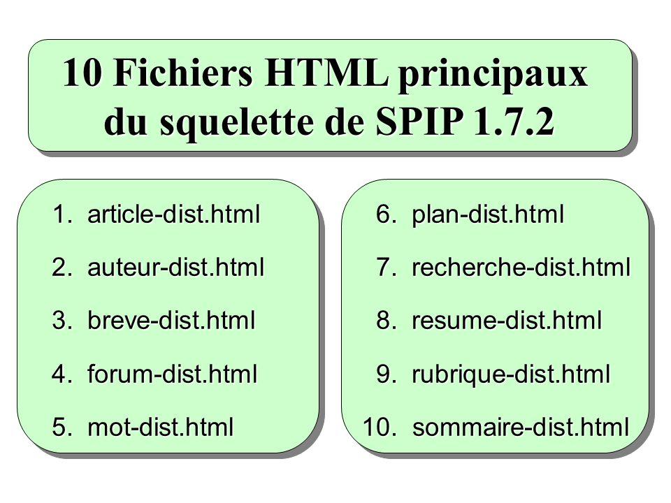 (resume.html dans Mozilla) 8. RESUME