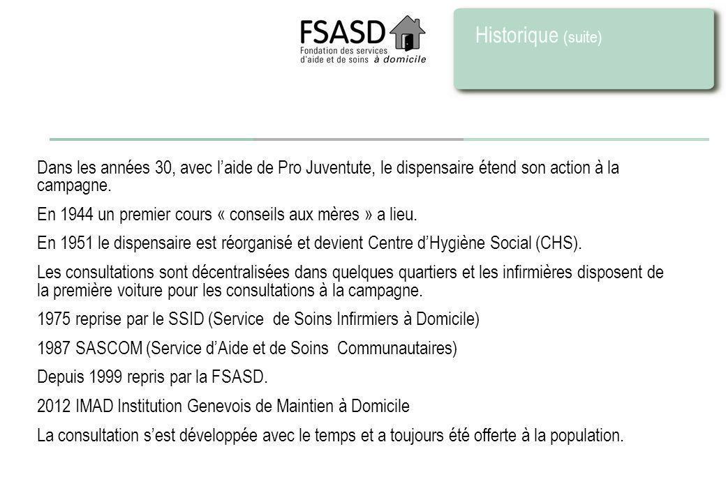 Dispositif FSASD Organisation 4 Centres de maintien à domicile 20 antennes avec dans chacune des consultations parents-enfants