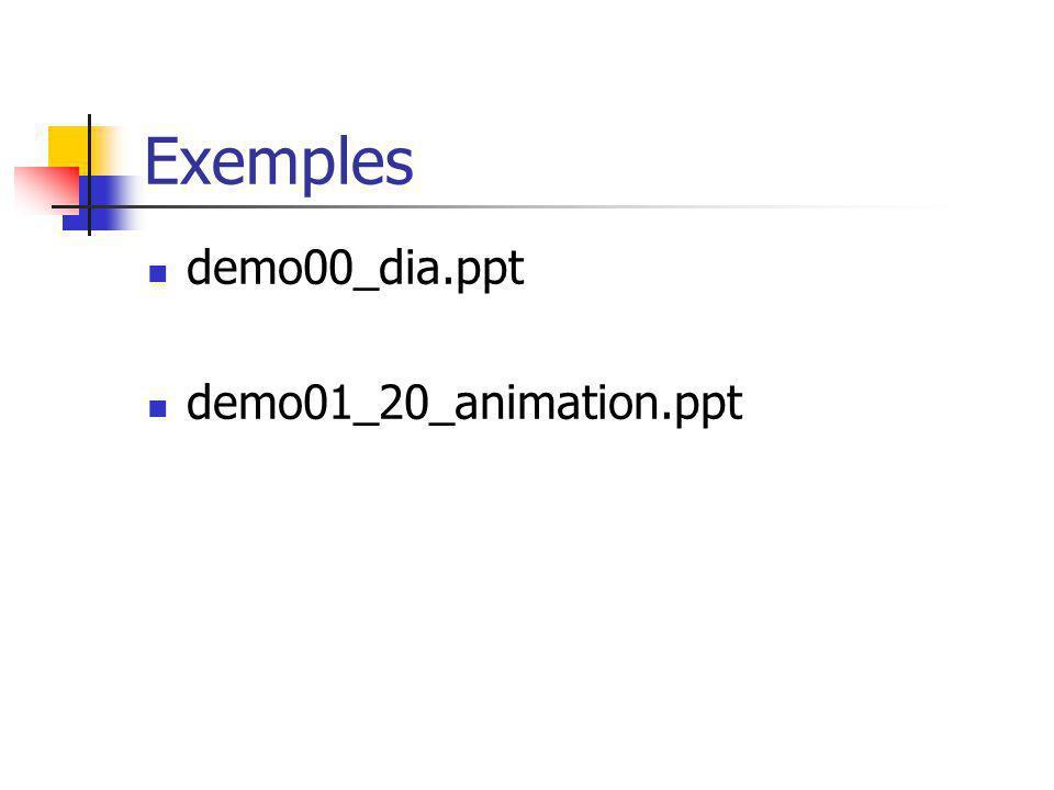 Vocabulaire 1 présentation = modèle + mise en page + transition Le modèle (= fond d écran + disposition des objets) est le même pour toutes les diapositives dune présentation.