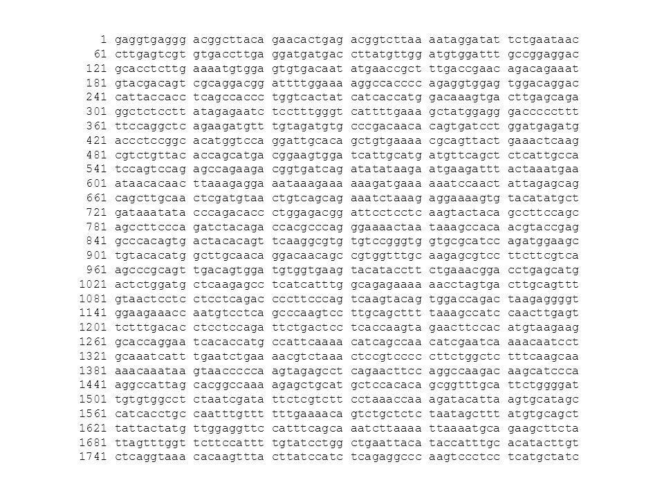 Où sont les gènes .