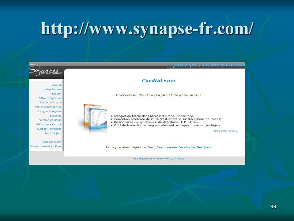 3333 http://www.synapse-fr.com/