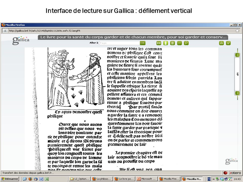 02/02/10 us- ascii Interface de lecture sur Gallica : défilement vertical