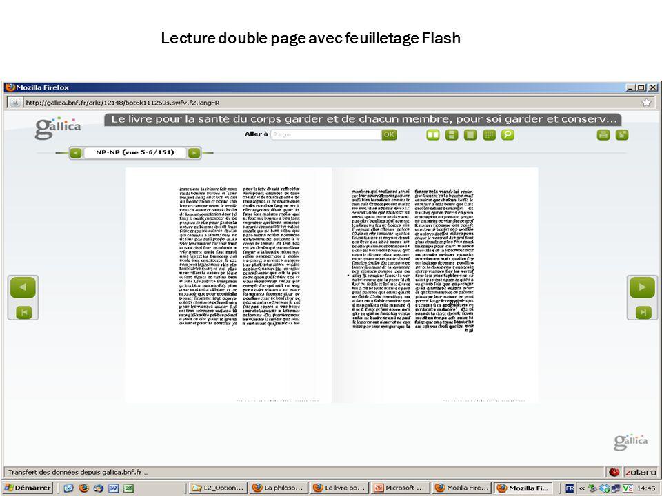 02/02/10 Lecture double page avec feuilletage Flash