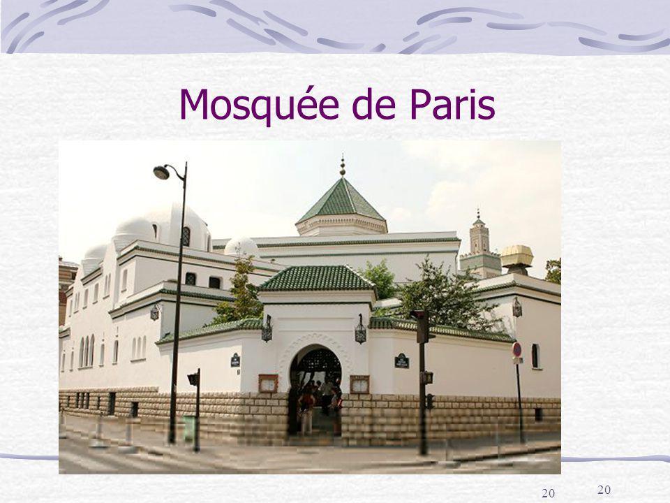20 Mosquée de Paris 20
