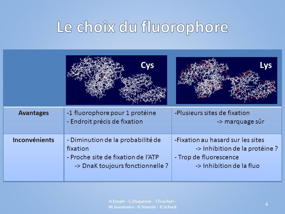 A.Douet - C.Duquesne - T.Frachon - M.Jeanmaire - B.Sevenie - R.Schuck 6 CysLys