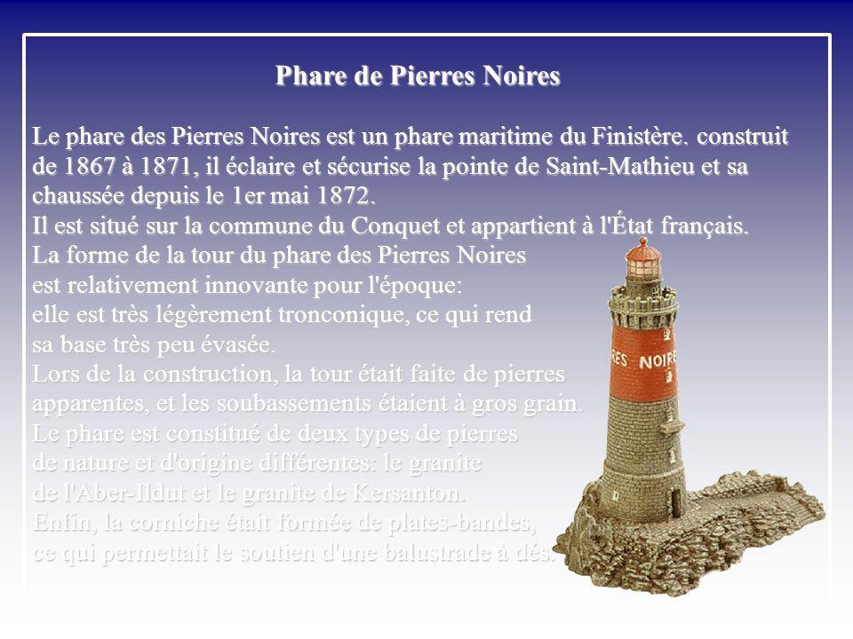 Pierres Noires - Pointe Saint-Mathieu