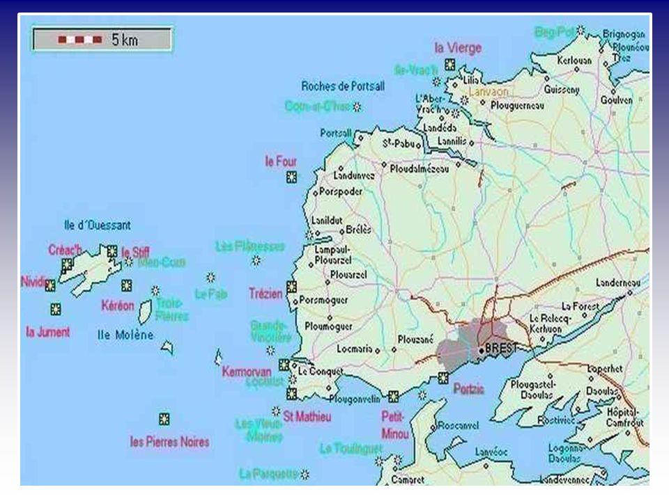 L'Île Vierge Le Four Trézien Saint- Mathieu Petit Minou Kermorvan Les sentinelles de lIroise
