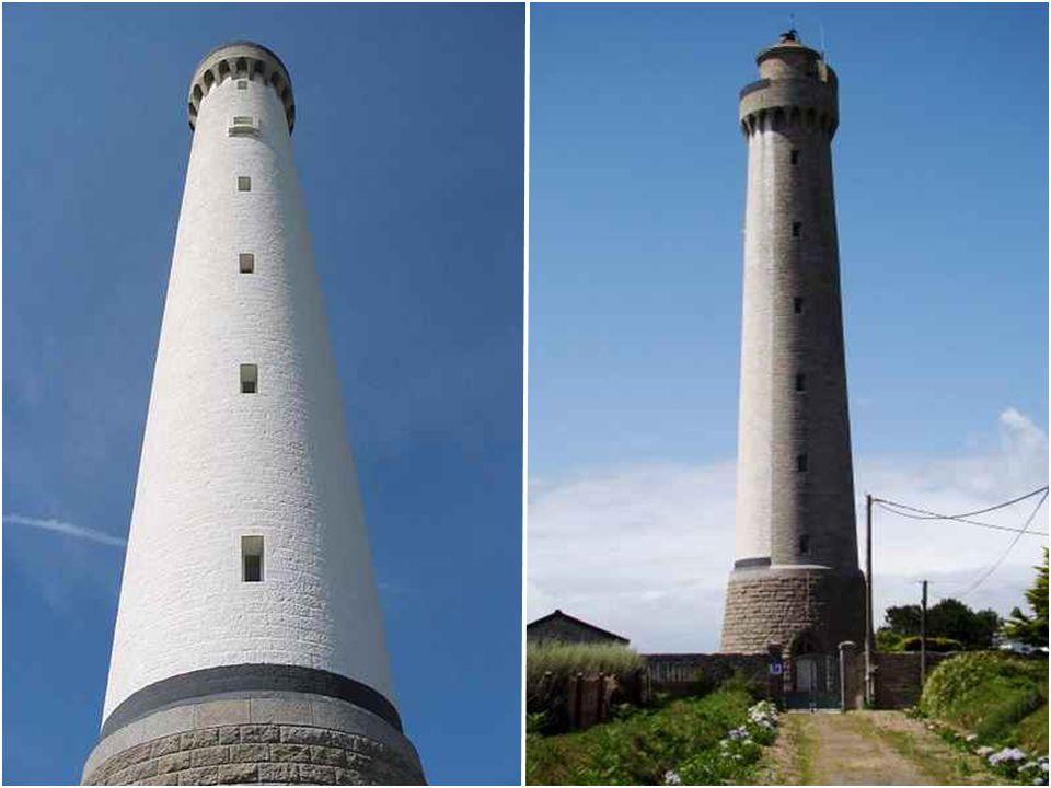 Phare de Trézien Le phare de Trézien est implanté dans les terres à 500 mètres du rivage et à 1,5 kilomètre de la pointe de Corsen, sur la commune de