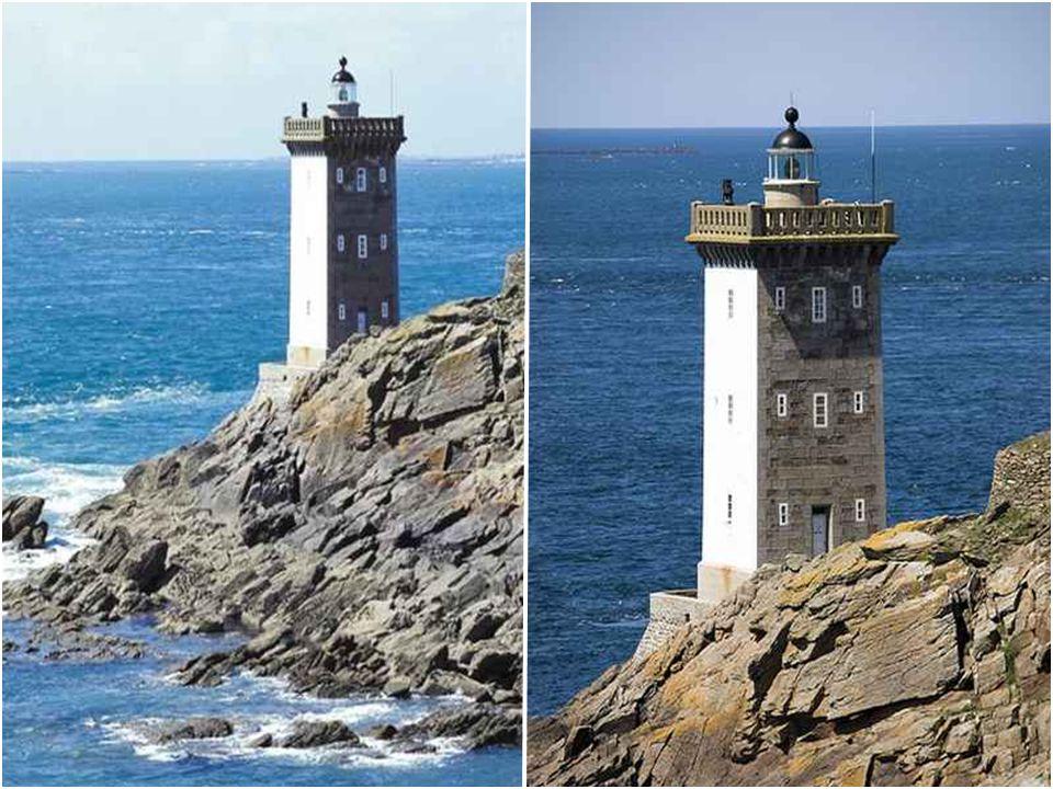 Phare de Kermorvan Le phare de Kermorvan est situé au Nord-Ouest du port du Conquet, dans le Finistère. Le phare fut construit en 1849 sur un rocher,
