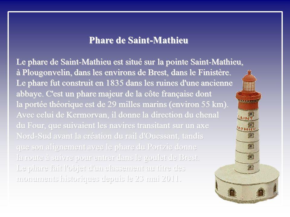 Saint-Mathieu - Entrée de la rade de Brest