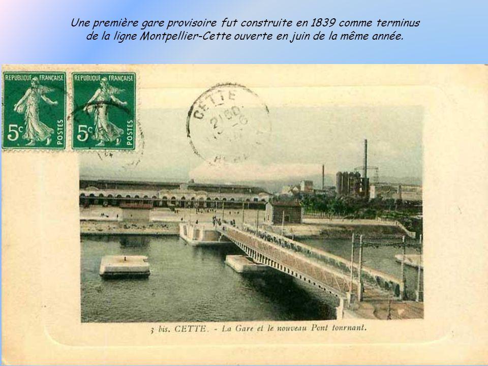 1905 « le hameau de la Corniche, un faubourg de Cette alimenté en eau potable par conduites souterraines » comme le présente le syndicat dinitiative.