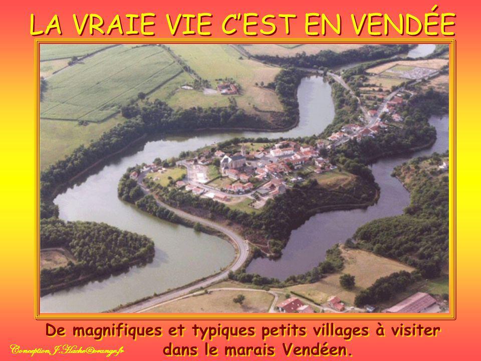 LA VRAIE VIE CEST EN VENDÉE De magnifiques et typiques petits villages à visiter dans le marais Vendéen.