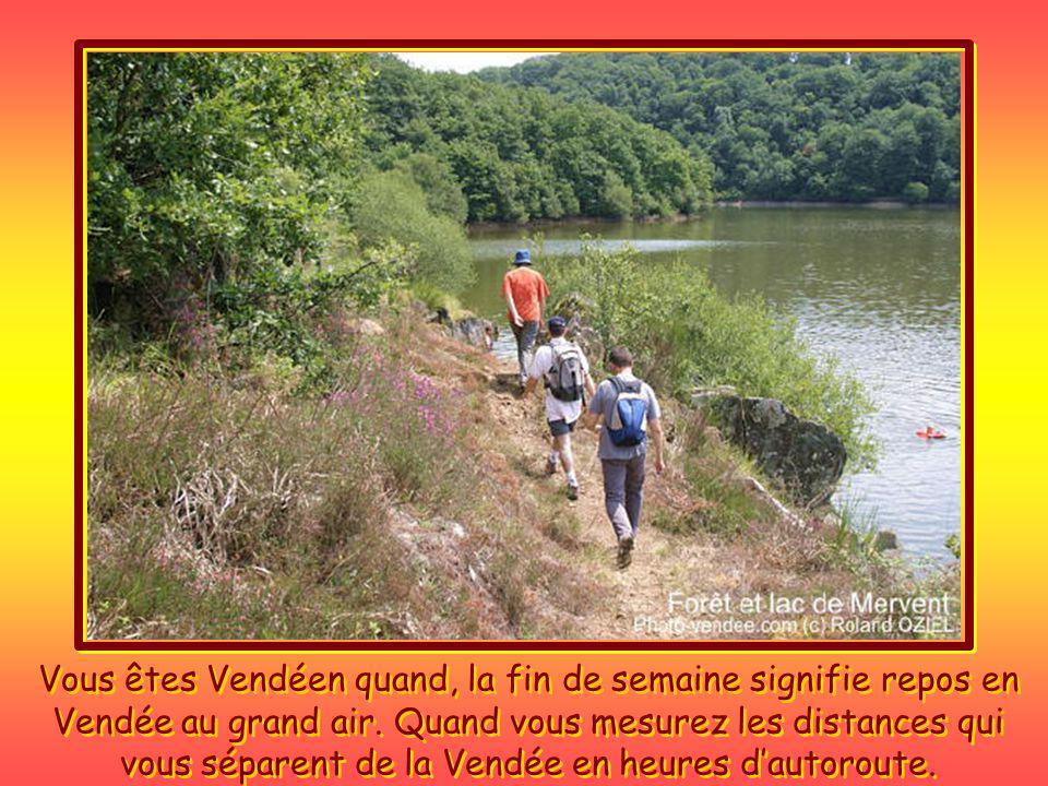 Il ne suffit pas dhabiter la Vendée pour être un vrai Vendéen.