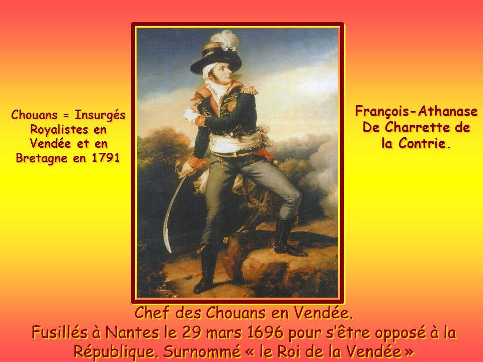 Quand vous connaissez son histoire, son passé, ses guerres, ses révolutions, ses grands hommes: Clemenceau, Charrette, Jean Chouan, De Lattre de Tassigny, Philippe de Villiers.