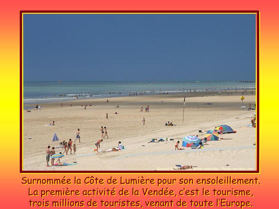 On a pas besoin de faire des milliers de kilomètres pour sy rendre, ce nest pas la Vendée qui est loin, cest Paris qui est à lautre bout de la France.