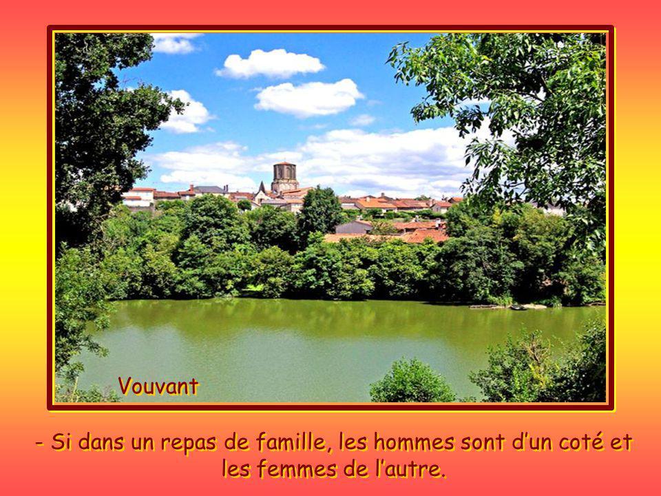 Tes sûrement Vendéen, Ou bien tas été adopté, si tu te reconnais dans ces coutumes locales plutôt surprenantes.