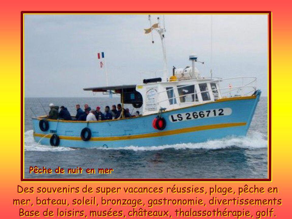 En Vendée, ce sont des vacances sans soucis, le soir cest la fête un peu partout sur la côte, danse, folklore, tradition, fêtes de la mer, spectacles de rues, boites, casinos, etc.