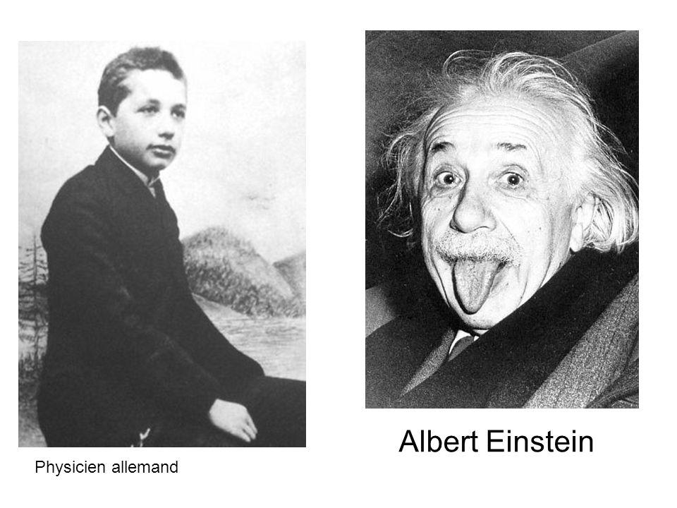 Albert Einstein Physicien allemand