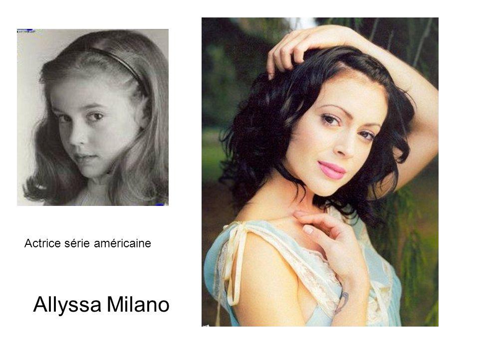 Allyssa Milano Actrice série américaine