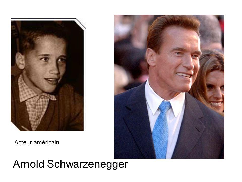 Arnold Schwarzenegger Acteur américain