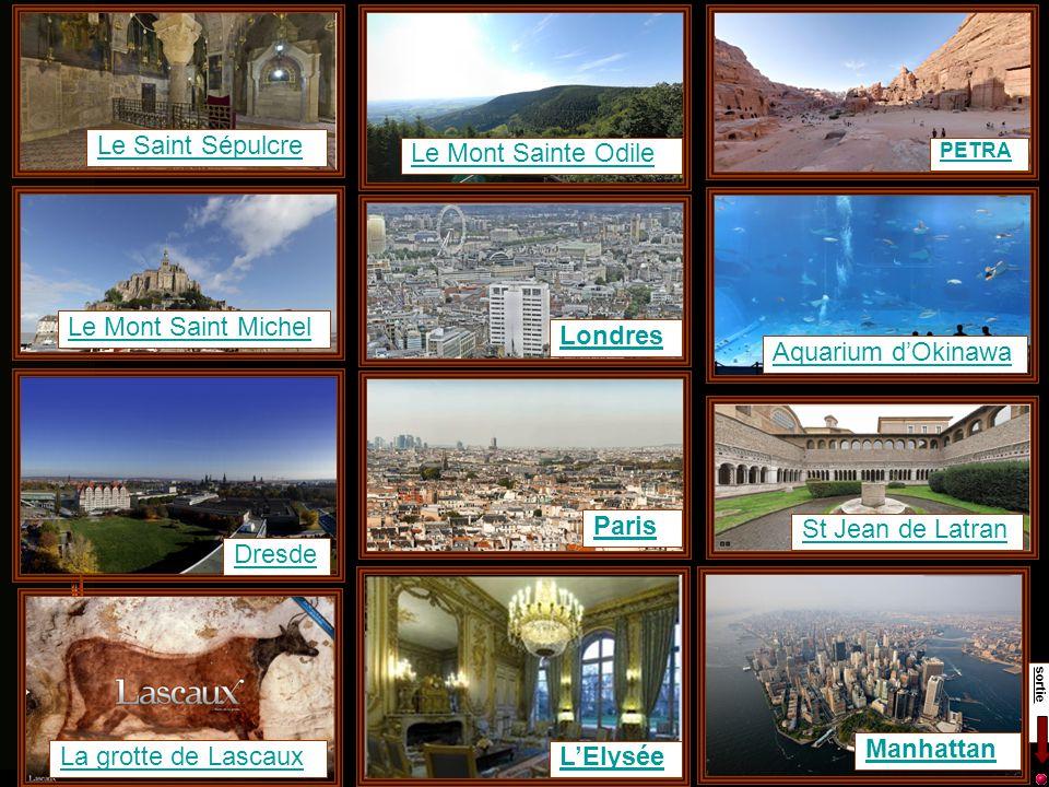 Avertissement : les diapositives de ce diaporama contiennent essentiellement des liens hypertexte vers des sites internet proposant des visites virtuelles panoramiques.