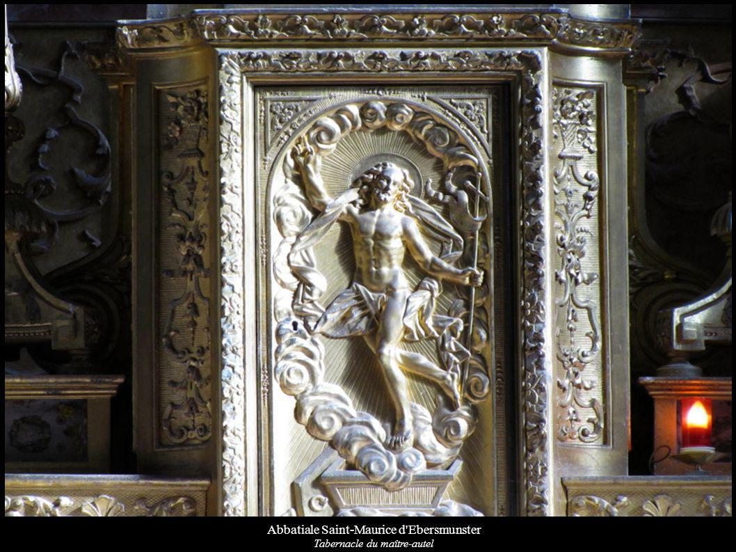 Abbatiale Saint-Maurice d'Ebersmunster Tabernacle du maître-autel