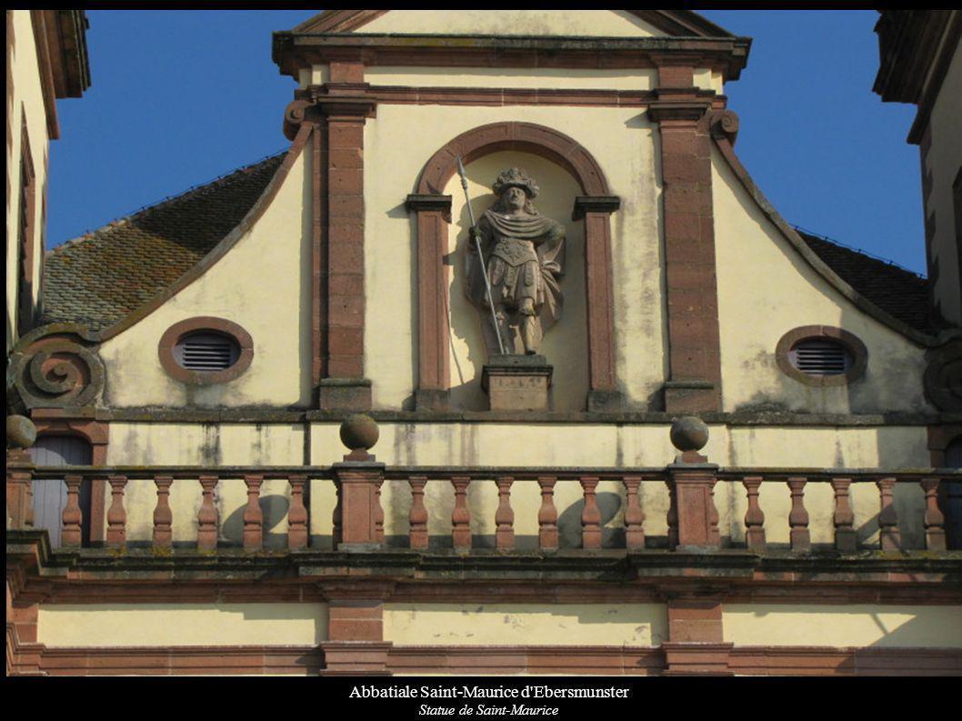 Abbatiale Saint-Maurice d Ebersmunster Statue de Saint-Maurice
