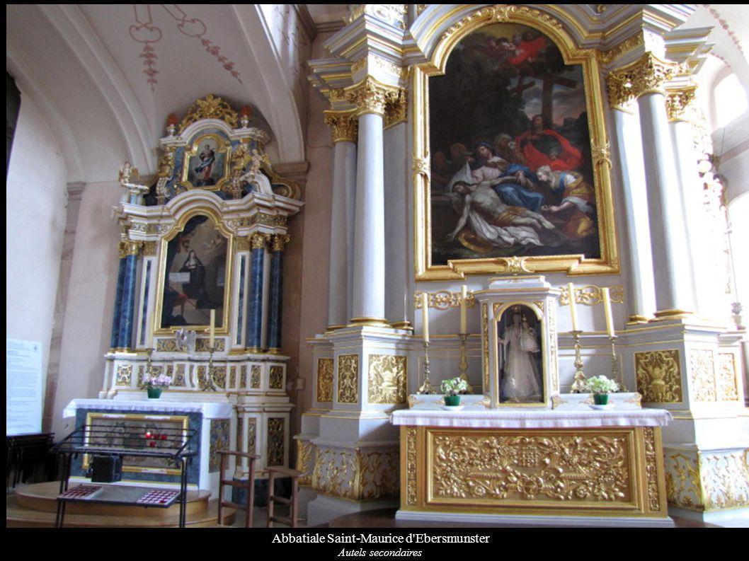 Abbatiale Saint-Maurice d Ebersmunster Autels secondaires