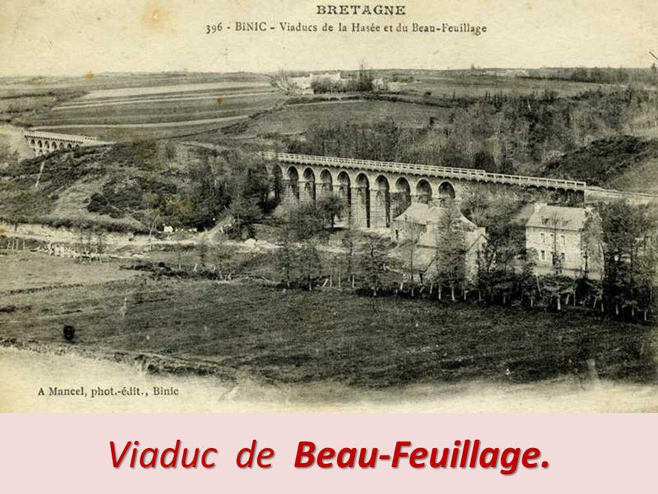Binic - Viaduc de la Hasée.