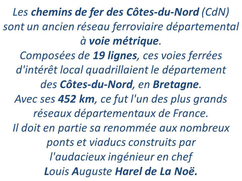 Petit Train des C C C Côtes du Nord.