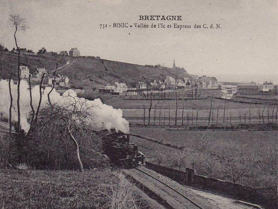 Dernier voyage du train de St. Brieuc-Paimpol.