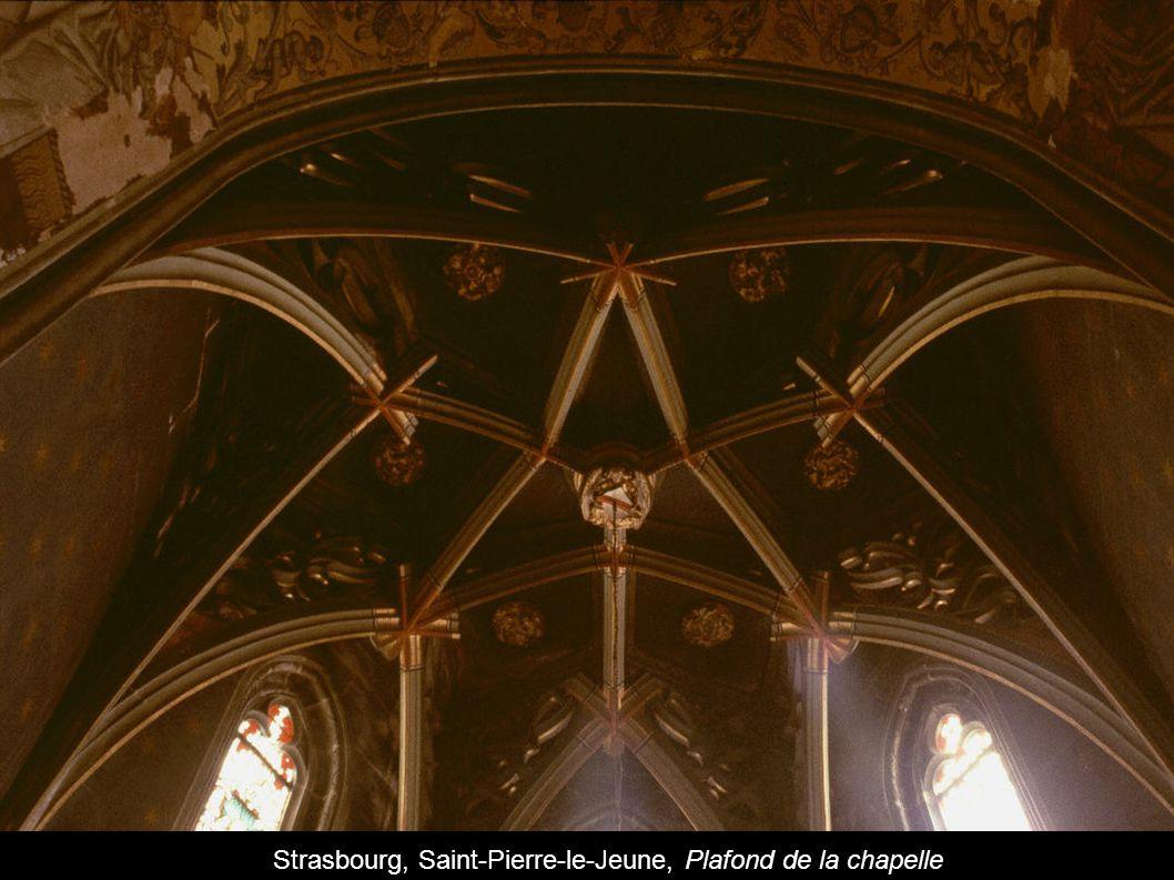 Strasbourg, Saint-Pierre-le-Jeune, Plafond de la chapelle