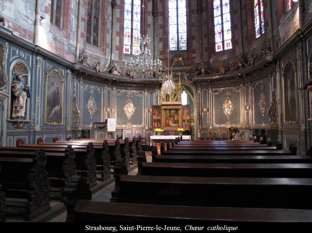 Strasbourg, Saint-Pierre-le-Jeune, Chœur catholique