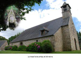 La chapelle de Lothéa, et la fontaine.