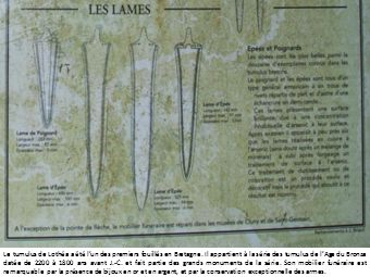 Le tumulus de Lothéa a été lun des premiers fouillés en Bretagne.