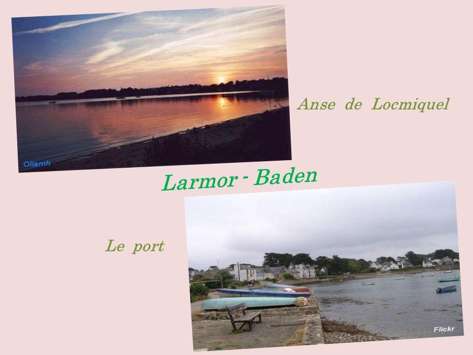 Arradon la pointe dArradon. dans le golfe du Morbihan