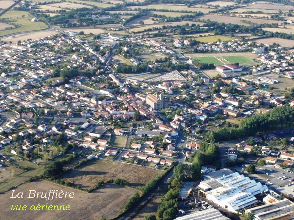 Damvix le village et la rivière. Sèvres-Niortaise