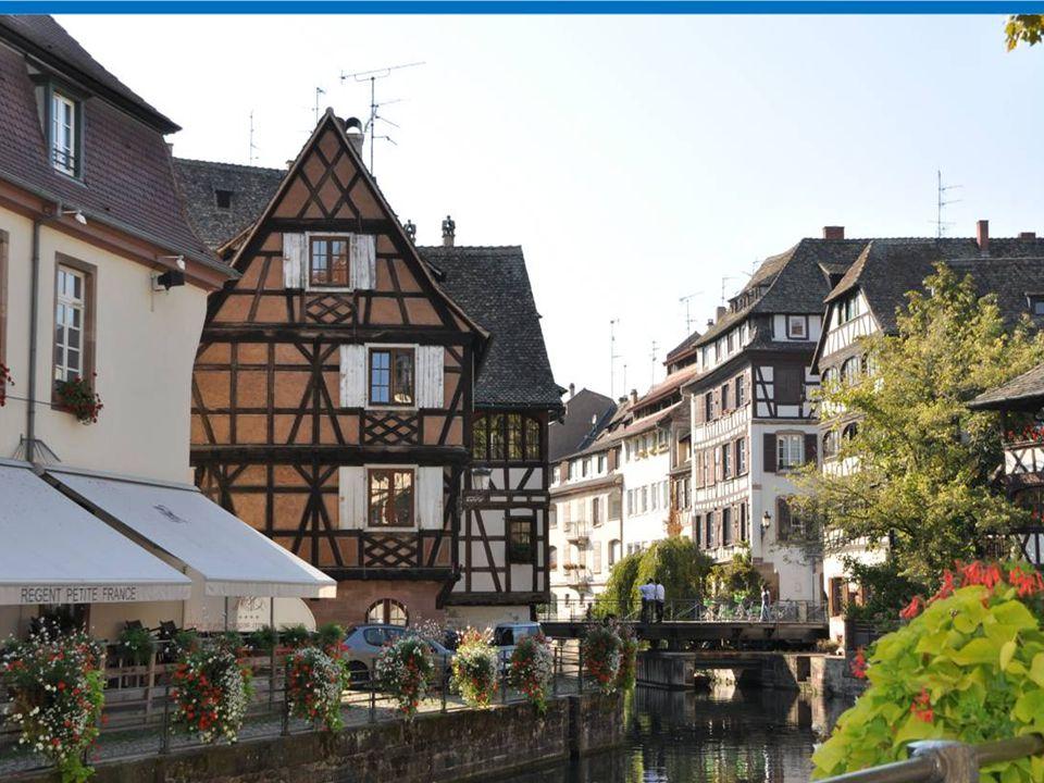 Strasbourg La petite France à Présenté par automatique