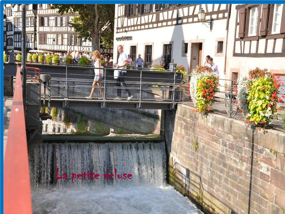 Charmant quartier de la capitale Alsacienne Ce fut un quartier de tanneurs meuniers et pêcheurs