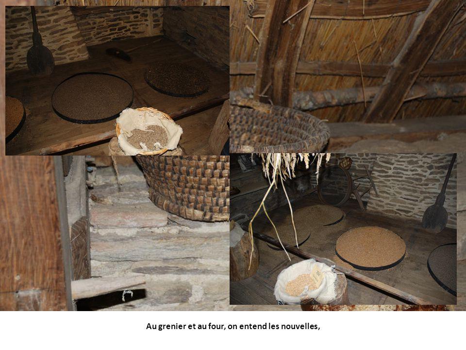 Meubles bretons, on reconnait bien les lits clos.