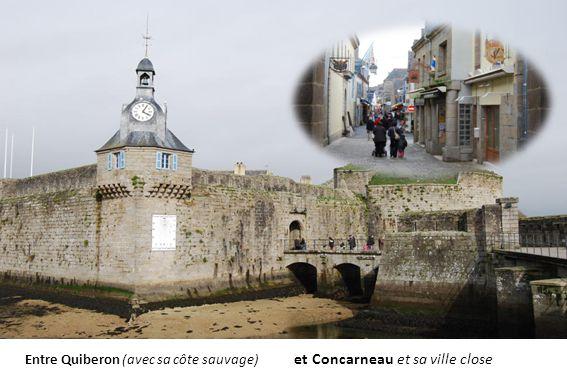 Le port de Doëlan, doù vous pouvez embarquez pour lîle de Groix selon la saison.
