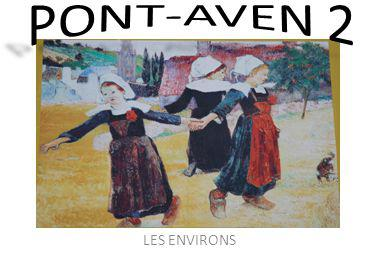 Retour sur Pont-Aven, avec une promenade au Bois dAmour.