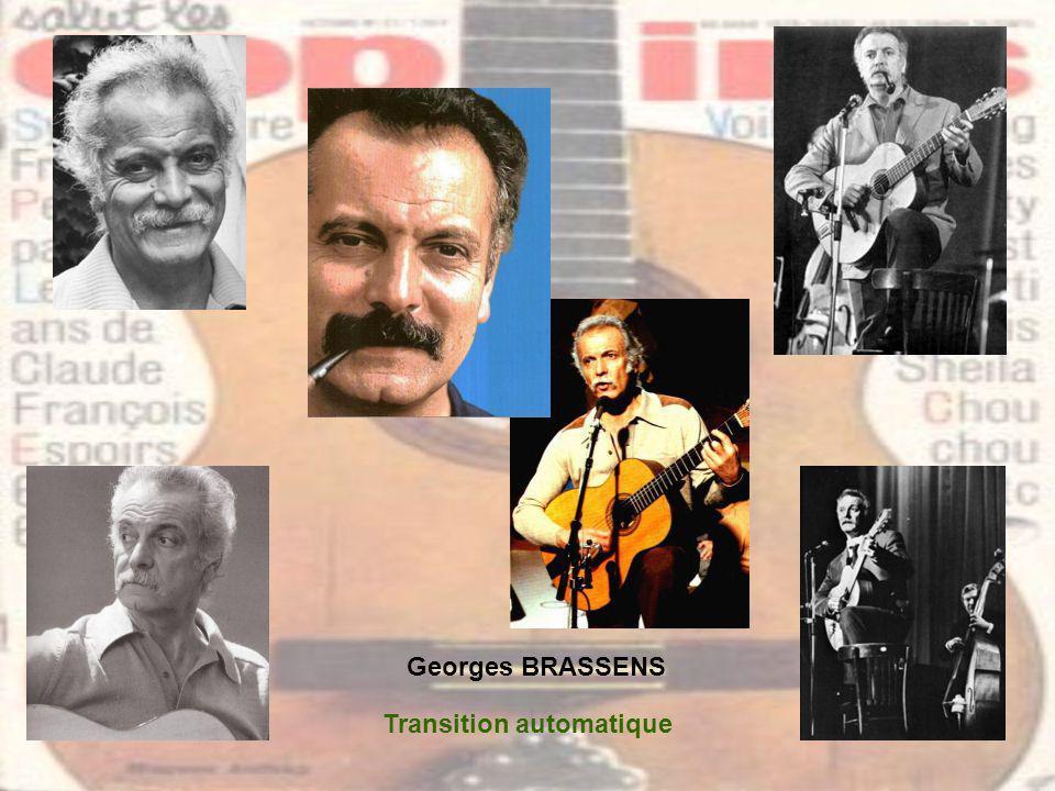 Georges BRASSENS Transition automatique