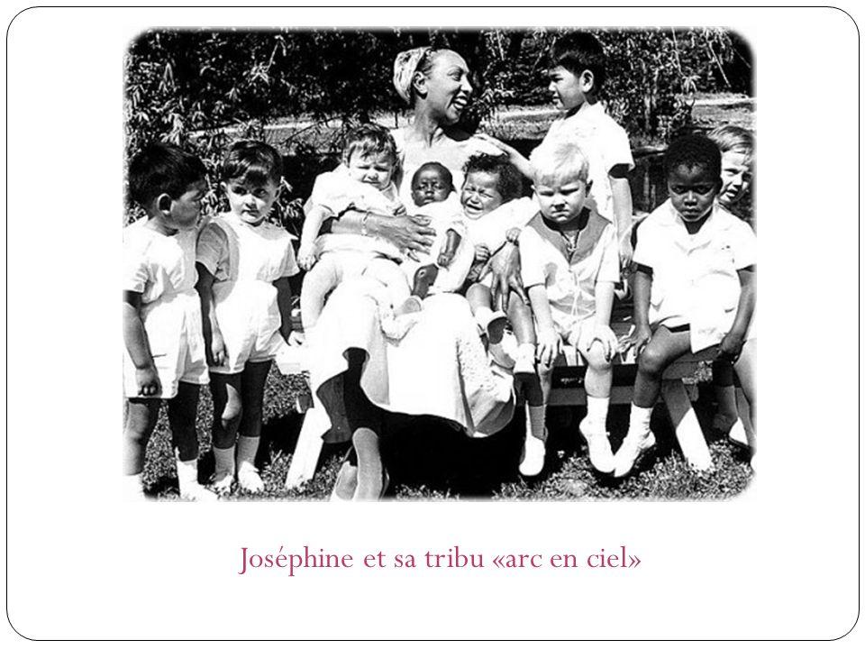 Joséphine et sa tribu «arc en ciel»
