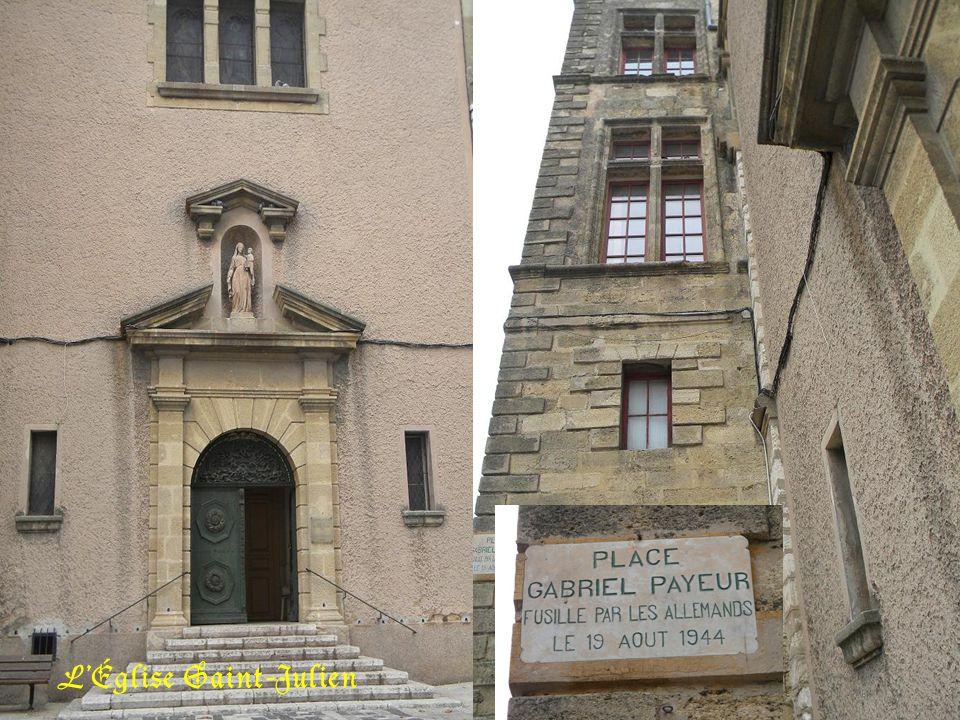 Ancienne école communale, devenue bibliothèque