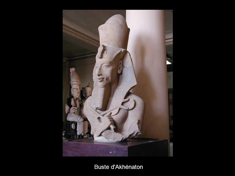 Buste d Akhénaton