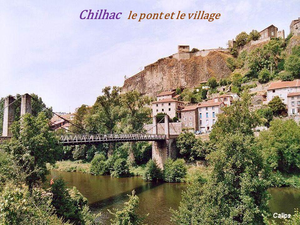 Langeac lAllier et la collégiale Saint-Gal